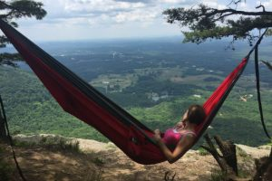 There Are Regular Hammocks For Ordinary People, And Then There Is The Bear  Butt Double Parachute Camping Hammock ...