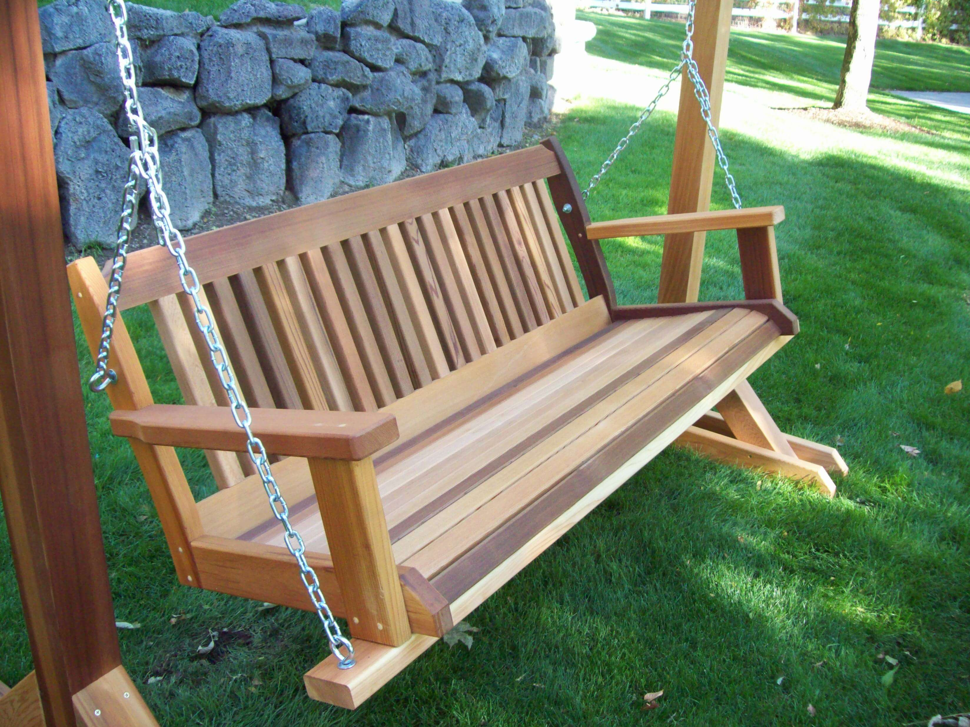 Best porch swing reviews guide the hammock expert for How to build a swing chair
