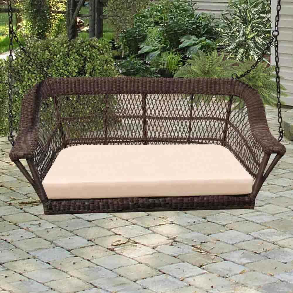 cushion garden for loveseat hanging furniture canopy outdoor swings wood hayneedle chair wooden stand glider porch plans bench covered terrific with top swing sets adults