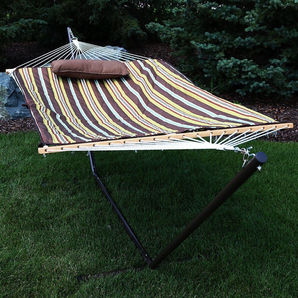 island xx large stand rope hammocks original studio with taupe cotton in metal on pawleys hammock