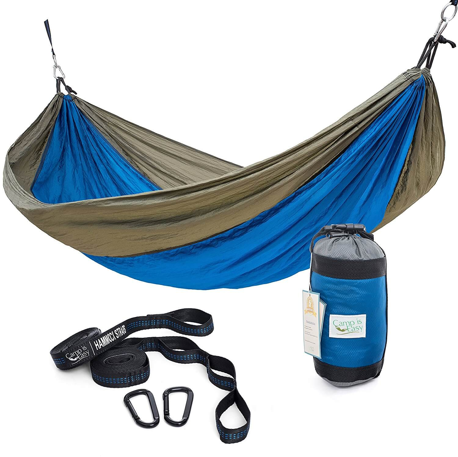 Camp Is Easy Single Parachute Camping Hammock Review