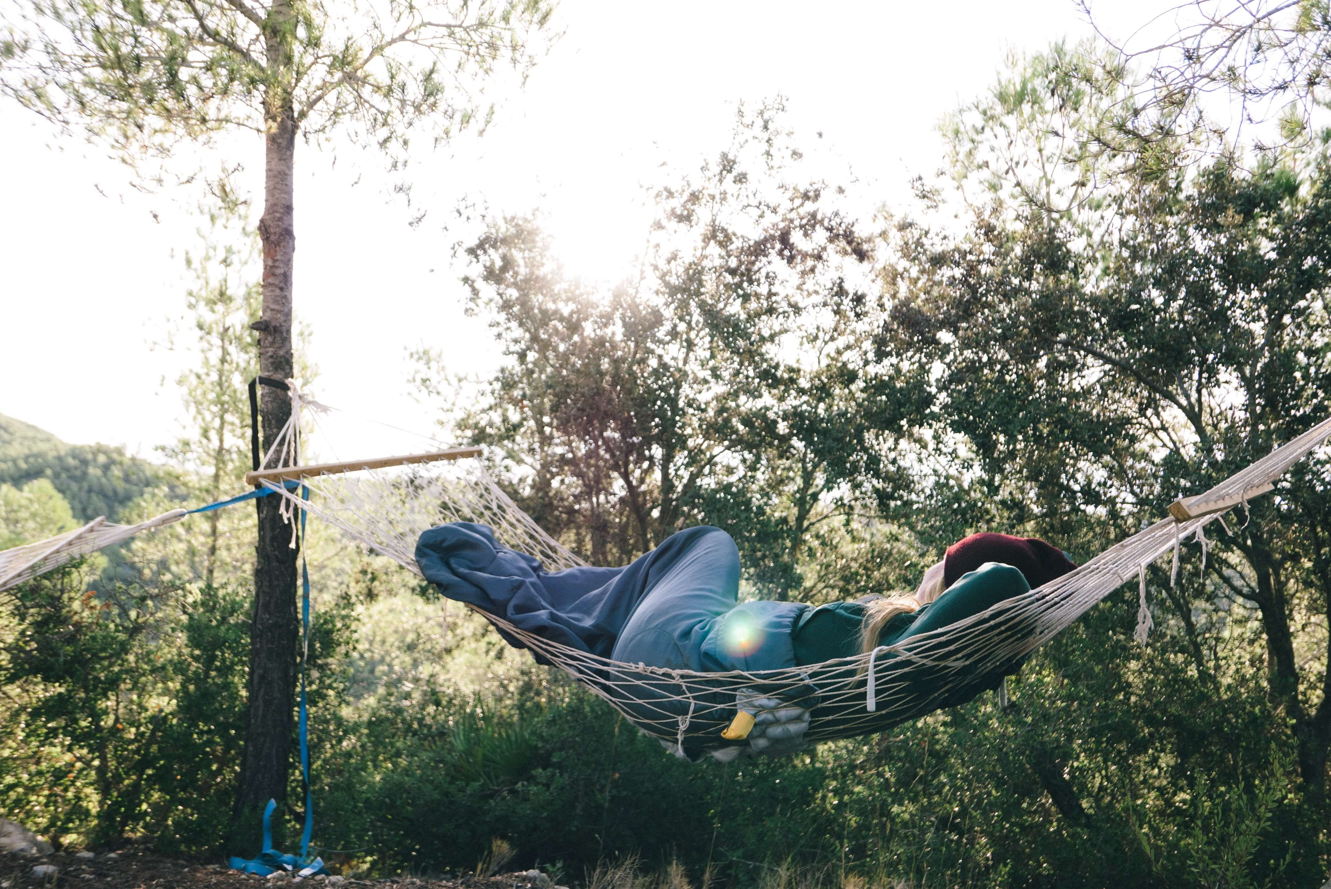 The Secret To Sleeping In A Hammock The Hammock Expert